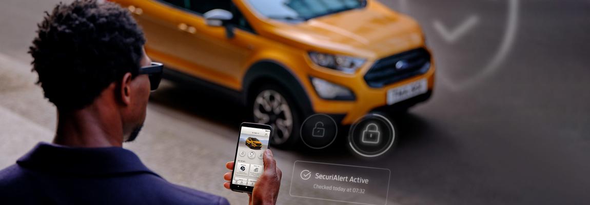 Krijg een melding op je smartphone als een inbraakpoging bij je auto dreigt