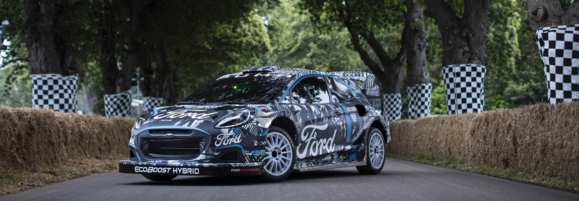 Het nieuwste Rally paradepaardje van Ford en M-Sport de Puma Rally1 WRC