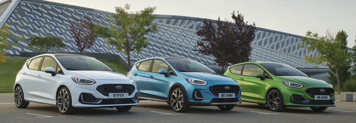 Dit is de nieuwe Ford Fiesta, zelfverzekerd, geëlektrificeerd en klaar voor de toekomst