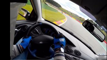 Ford Focus RS Mk1 vs Mk3 Spa Francorchamps track day by WCS