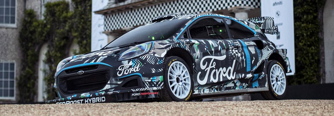 2022 Ford Puma Hybrid Rally1 en nieuw team voorgesteld door Ford M-Sport